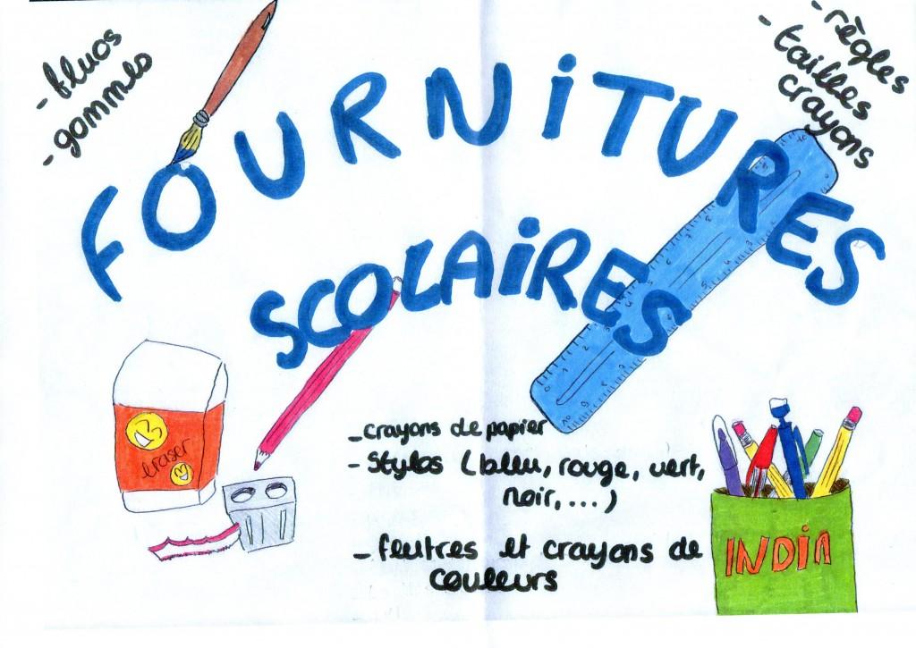 L'affiche réalisée par les élèves