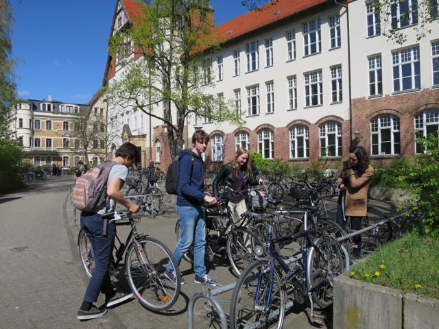 Quand nos petits bretons vont A Vélo au Lycée... mais à Berlin !